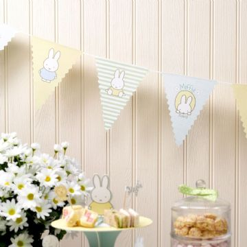 Baby Miffy Party Bunting - 2.5m
